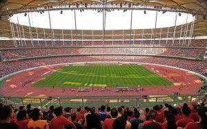#football #stadium . Bukit Jalil National Stadium – Malaysia