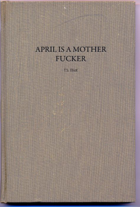 Will be searching for this book, should be a good read being by TS Eliot, and also i love the title