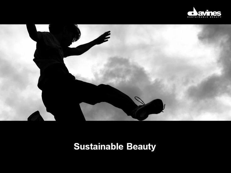 Sustainable Beauty. #Davines