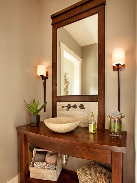 43 best images about pretty powder rooms on pinterest Pretty powder room ideas