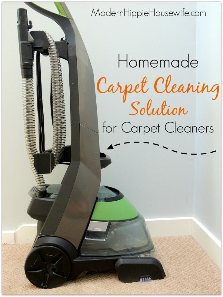 Homemade Carpet Cleaning Solution For Carpet Cleaners