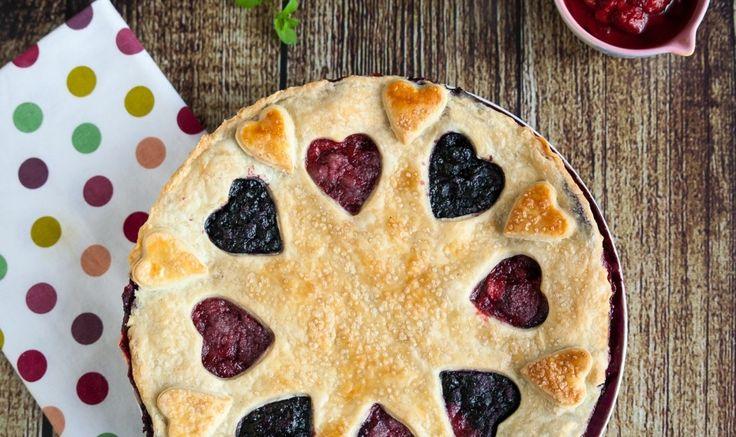 Рецепт - Ягодный пирог с йогуртом