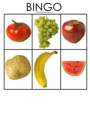 * Fruit: Bingo! 3-5