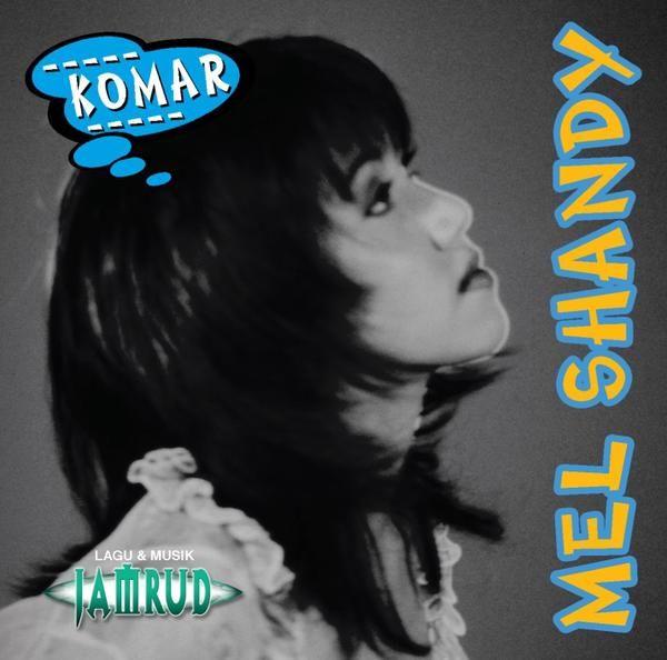 "Mulai 14 Mei 2016 tersedia CD Album "" Mel Shandy - Komar "" produksi Log Zhelebour / Log Music | Musik : Jamrud | bonus track "" Kecewa "" | youtube.com/log1603"