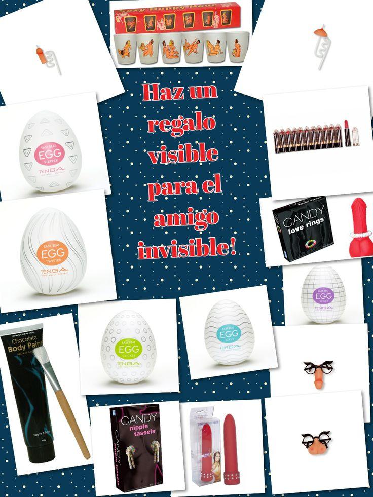 Ideas para el amigo invisible por menos de 10 € Estamos en c/ Maestro Falla.29, Castellón o 650 505 700 Visita nuestra tienda online: www.tu2deseo.com