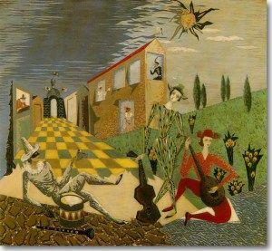 Βακαλό Γιώργος-Comedia dell' Arte, 1954