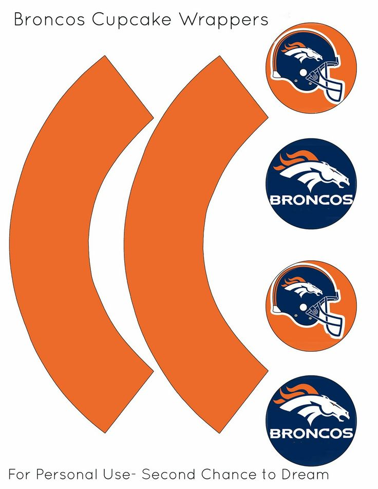 Super Bowl XLVIII Party Printables- Denver Broncos, not my team but will go for them THIS time.