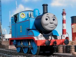 Thomas ~ From 1991 to 1993, George Carlin replaced Starr as both the storyteller and as Mr. Conductor for the US, and continued narrating the stories until 1995. Alec Baldwin portrayed Mr. Conductor in Thomas and the Magic Railroad, and narrated the series for the US from 1998 to 2003.