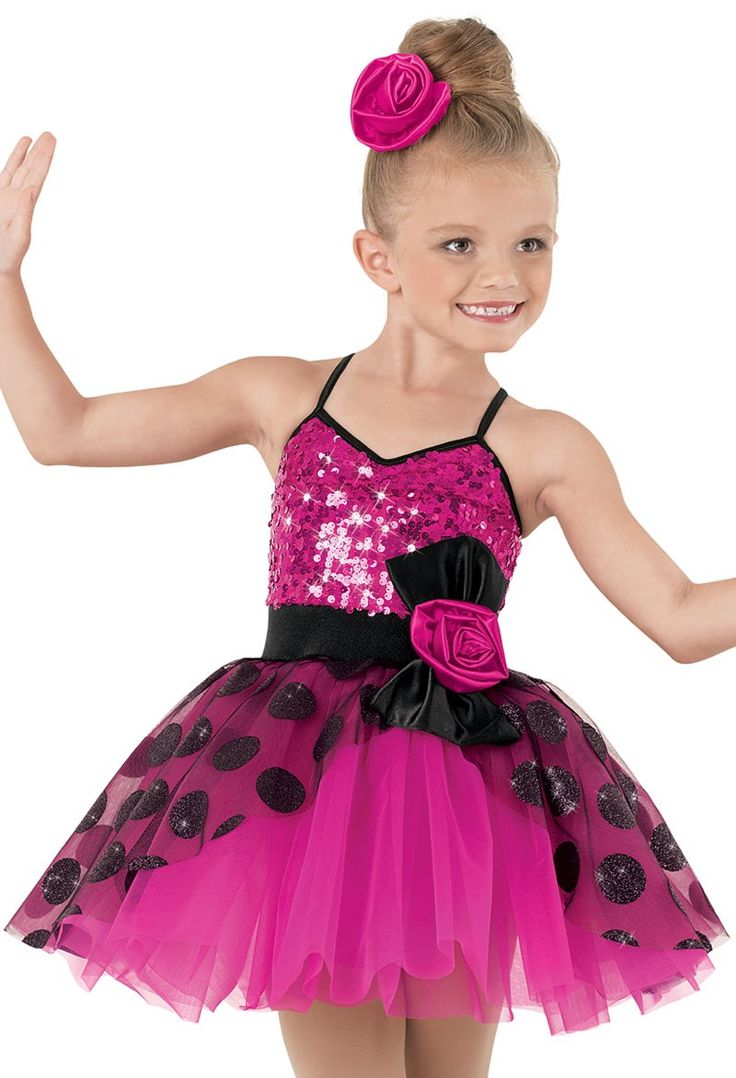 Weissman™ | Glitter Dot Ultra Sparkle Tap Dress