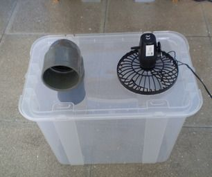 Simple Cheap Air Conditioner - for a REALLY hot summer day in the coop? // use frozen jugs of water, possibly with rubbing alcohol