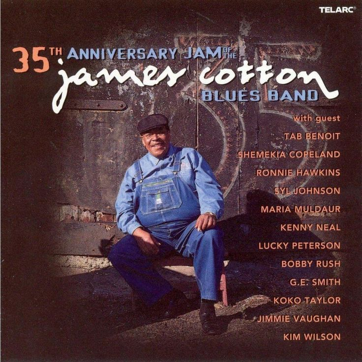 James Cotton - 35th Anniversary Jam of the James Cotton Blues Band (CD)