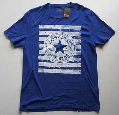 All Star Converse Chuck Taylor Men's T-Shirt. Brand New. MSRP $25