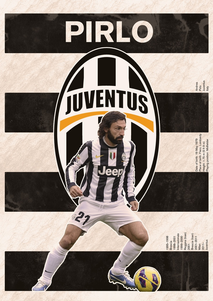 The Pirlo/Juventus poster #soccer
