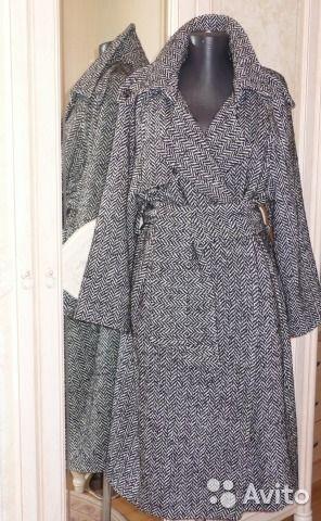 Новое шикарное пальто Франция, шерсть MAX mara