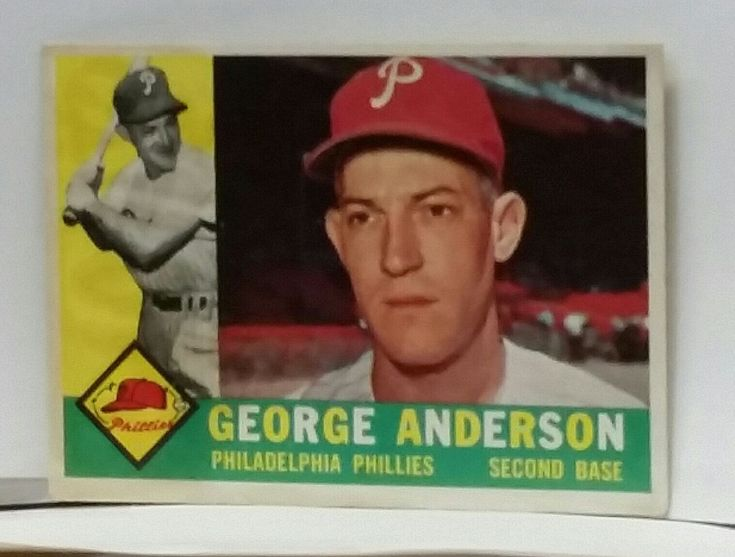 "1960 Topps #34 ""SPARKY"" ROOKIE - George Sparky Anderson, NM-MT"