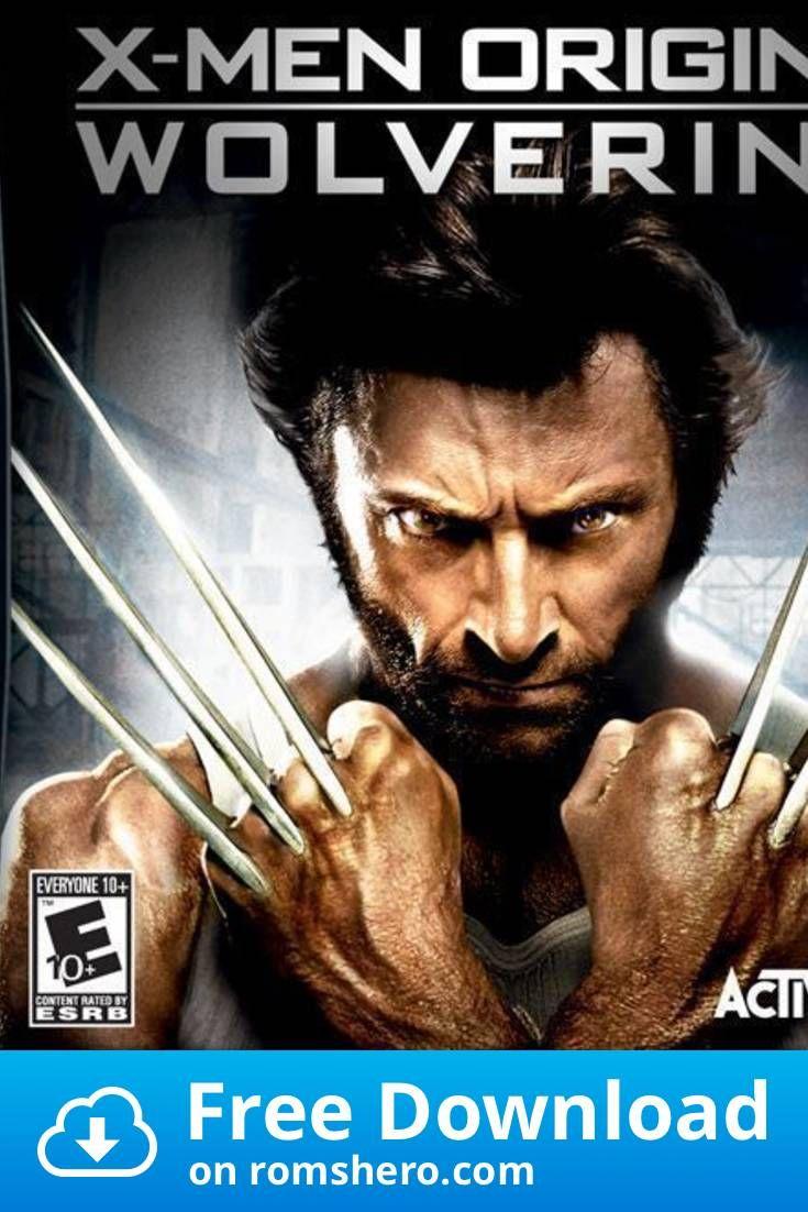 Download X Men Origins Wolverine Us Nintendo Ds Nds Rom In 2020 Playstation Portable X Men Wolverine
