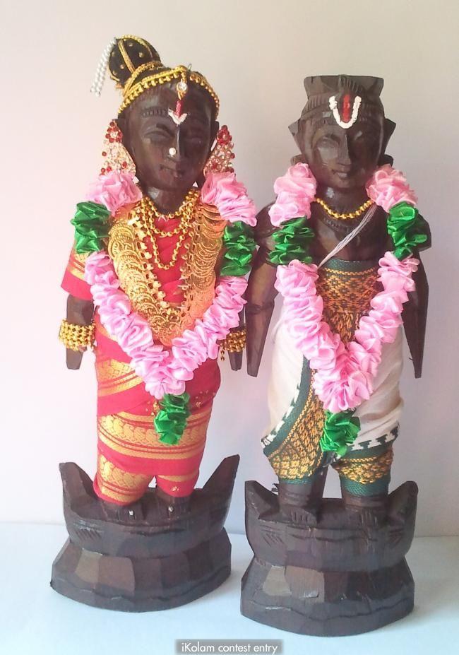 Marapachi contest - Iyengar Bride and Groom | www.iKolam.com