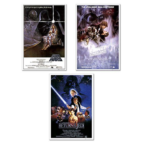 Star Wars: Episode IV, V & VI - Movie 24x36 Poster //Price: $23.99 & FREE Shipping //     #starwarsmeme