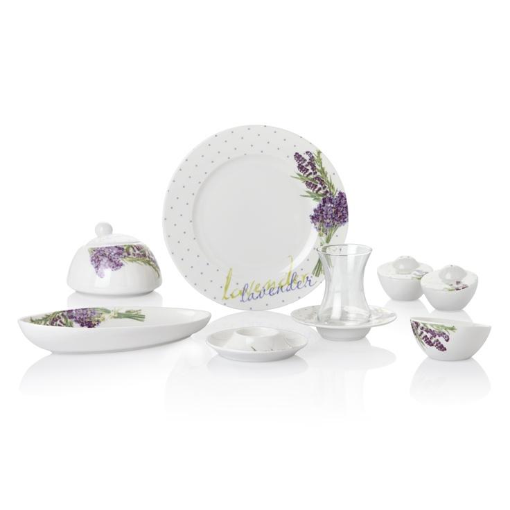 Lavender Kahvaltı Takımı / Breakfast Set #bernardo #kitchen #mutfak #tabledesign