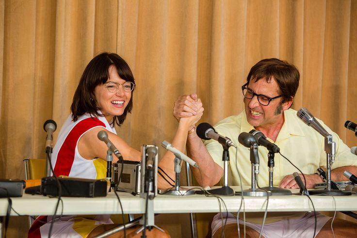 Emma Stone and Steve Carell Talk Battle of the Sexes' Real-Life Historic Showdown