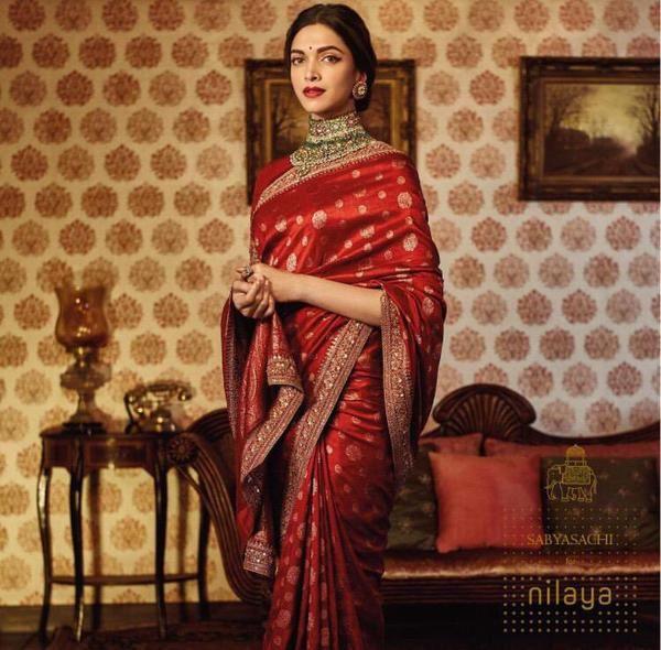 Deepika Padukone, Sabyasachi for Nilaya