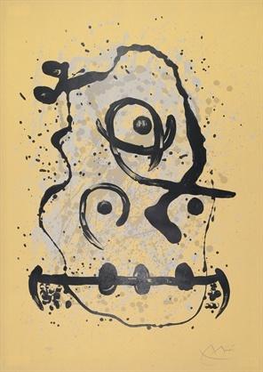 Lhomme polyglot-sable by Joan Miró on artnet Auctions