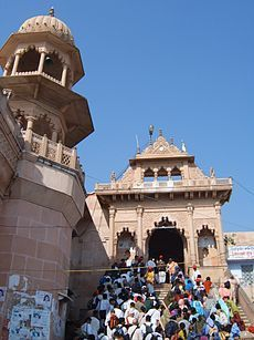 Mathura where Krishna was born