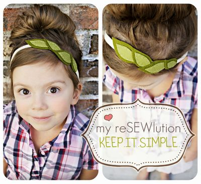 Headband . . . simple!: Head Bands, Diy Simple Headbands, Cute Headbands, Leaf Headbands, Felt Leaves, Diy Headbands, Hair Accessories, Ribbons Headbands, Girls Hair