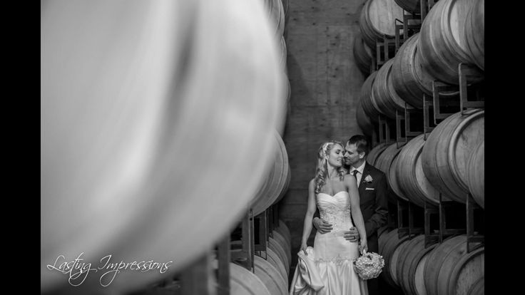 Hernder Estates Winery. Wedding photography. Wine barrels. By Helen Mels. Lasting Impressions by Helen