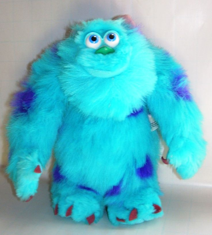 One of my favorite disney characters. Sully he's so blue ...