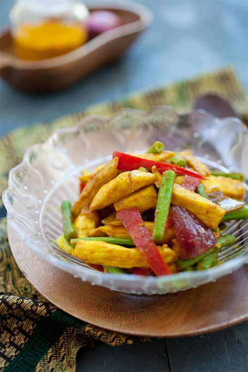 Turmeric Chicken | rasamalaysia.com