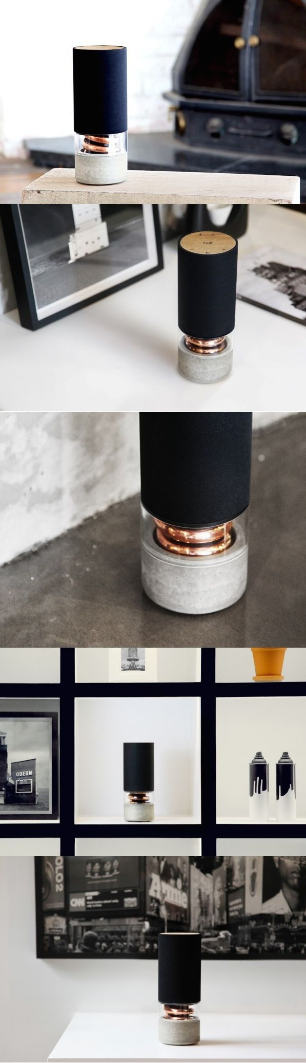 I digress. I can get overly passionate about anything audio, going on, ranting and raving about how awesome it may be. Now when speakers like the Pavilion Wireless Speakers come along, I really can't contain myself. #Speaker #Design #YankoDesign