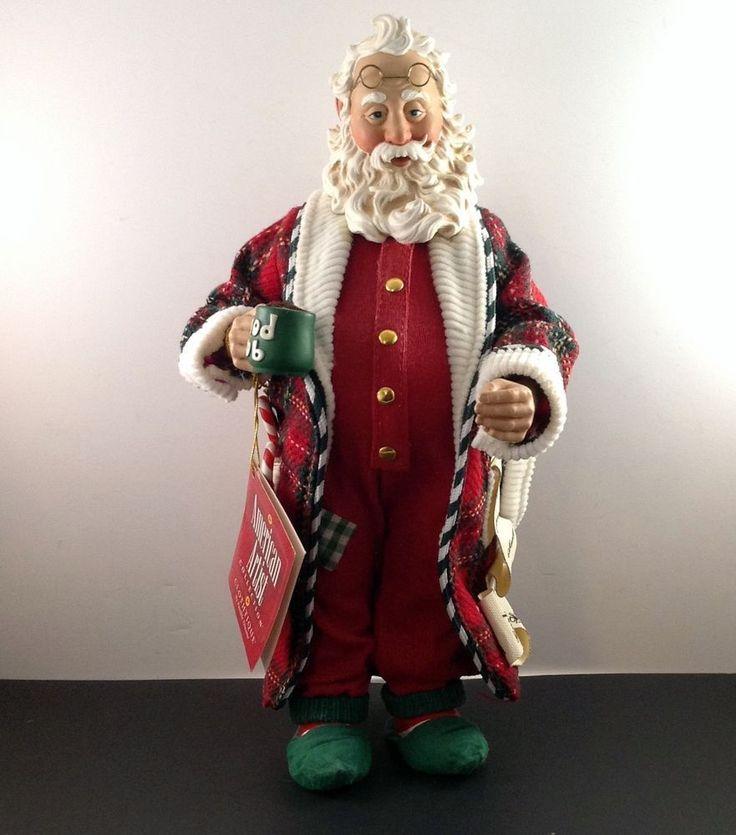 Clothtique Santa Claus December 26 Lyn Fletcher Possible Dreams American Artist #PossibleDreams