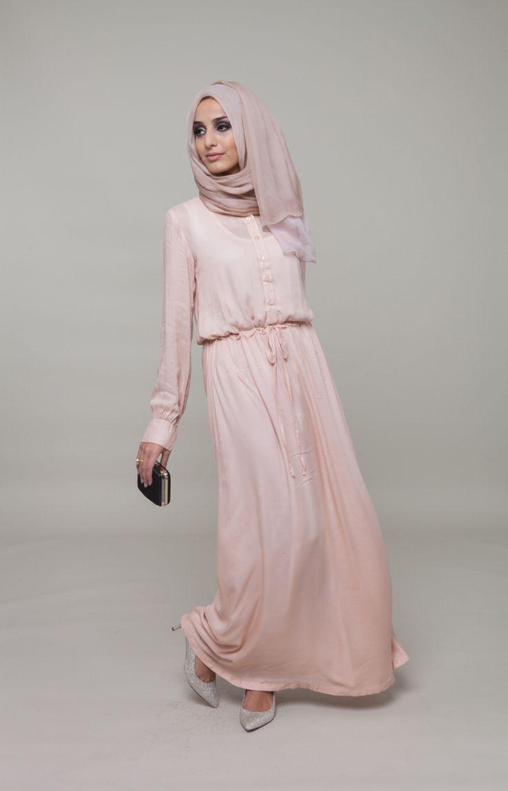 Sencilla #Pastel #Peach #Aab #WhatsNew #NewArrivals #Hijab #EidCollection #EidLuxe #Fashion #Style
