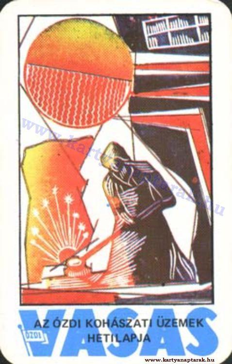 1977 - 1977_0715 - Régi magyar kártyanaptárak