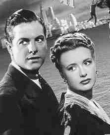 Priscilla Lane and Robert Cummings