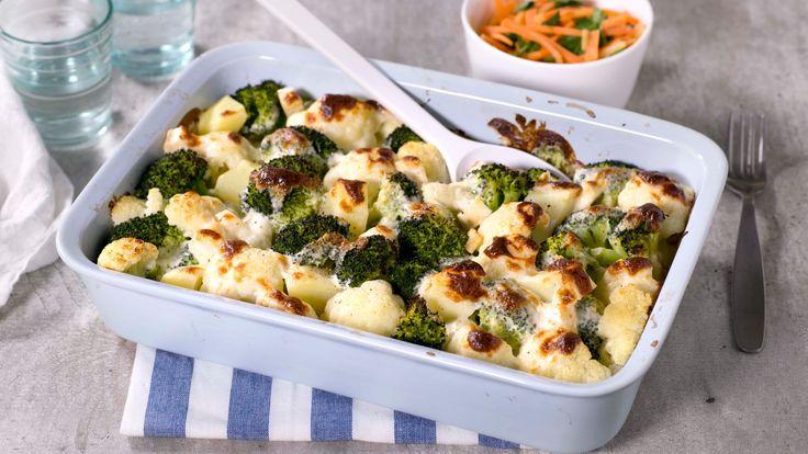 Recipe for Grønnsaksgrateng