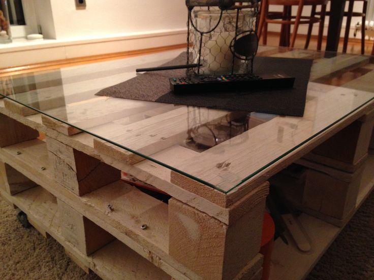 Selfmade Couch Tisch Aus Paletten