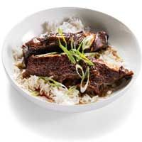 Slow cooker chinese spareribs. These are good!