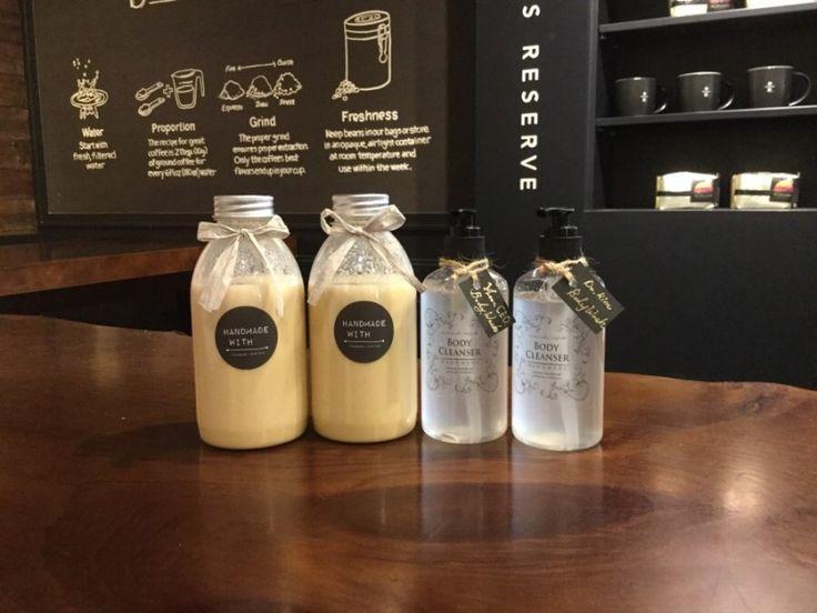 선물하려고 만든 Chickpea milk와 천연 바디샴푸 두유는 단풍시럽으로 풍미를 더해 고소 달콤한 건강식! ...