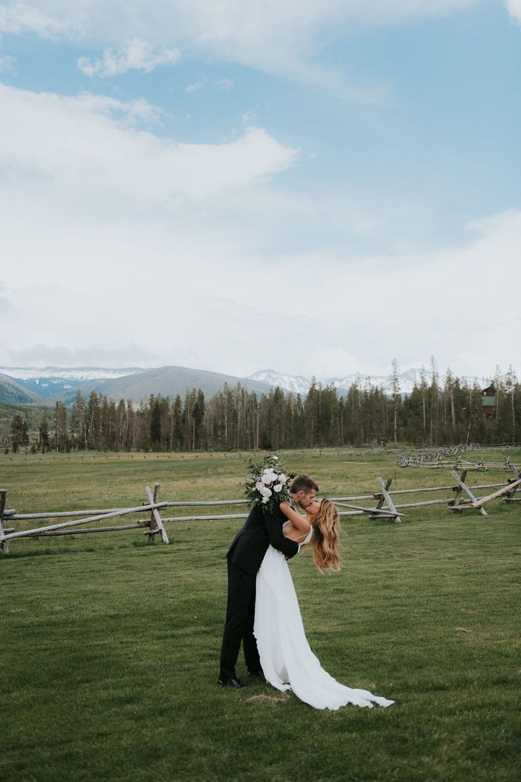 Katie Griff Photo: Devils Thumb Ranch Wedding  devils thumb ranch, devils thumb …