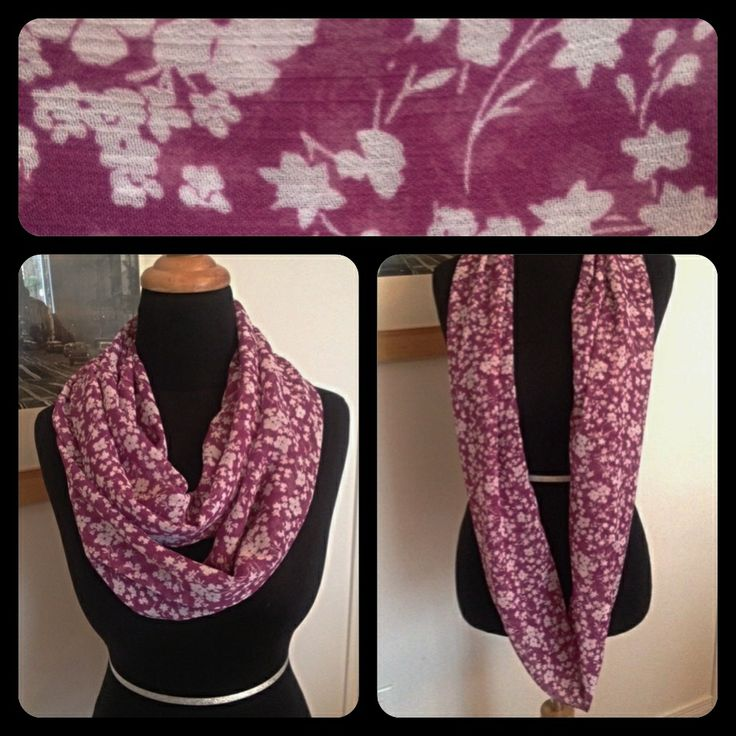 Spring 2014 Collection Chiffon Infinity Scarf