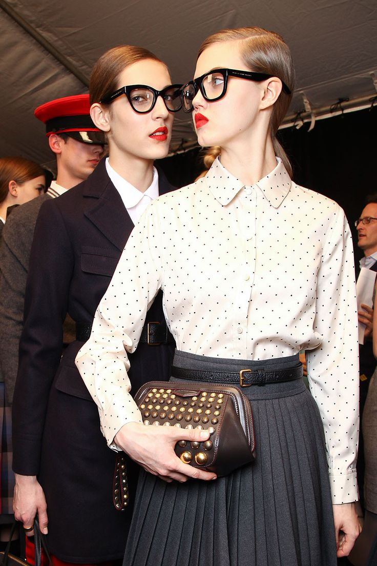 FW12 Backstage Marc Jacobs