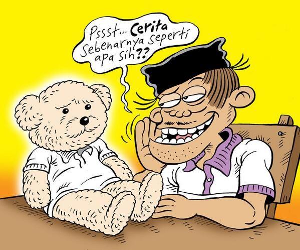 Mice Cartoon, Rakyat Merdeka: Tentang Teddy Bear