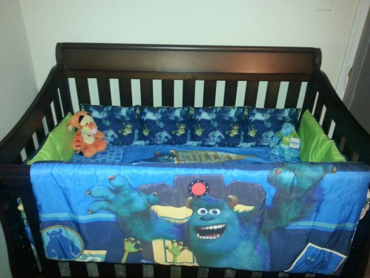Diy Monsters Inc Crib Bedding 1 Bought A Toddler Bed Set