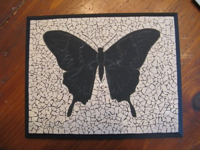 Eggshell Mosaic Tutorial