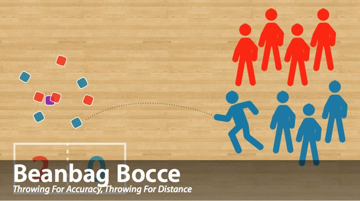 ThePhysicalEducator.com | Target Games | Beanbag Bocce