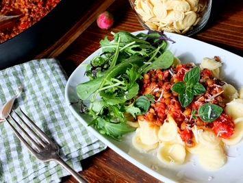 alternatywa dla klasycznego bolognese doskonale na szybki obiad lub kolacje...
