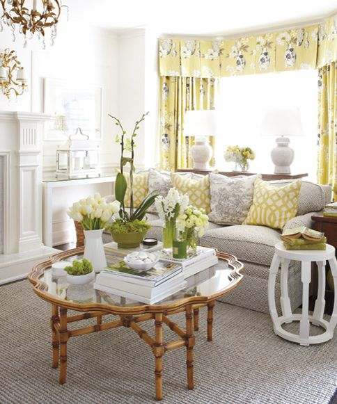 This gorgeous house belongs to a design editor Christine Hanlon at Style at Home magazine. Isn't it lovely? #interior design #home decor #home accessories