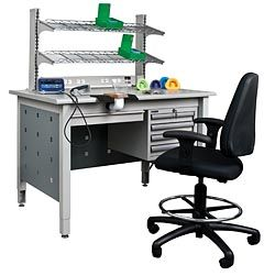 Add to the versatility of your All-Purpose Bench with our choice of accessories above the worktop.